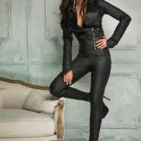Sexy Curvaceous Ladies Clad In Real Leather