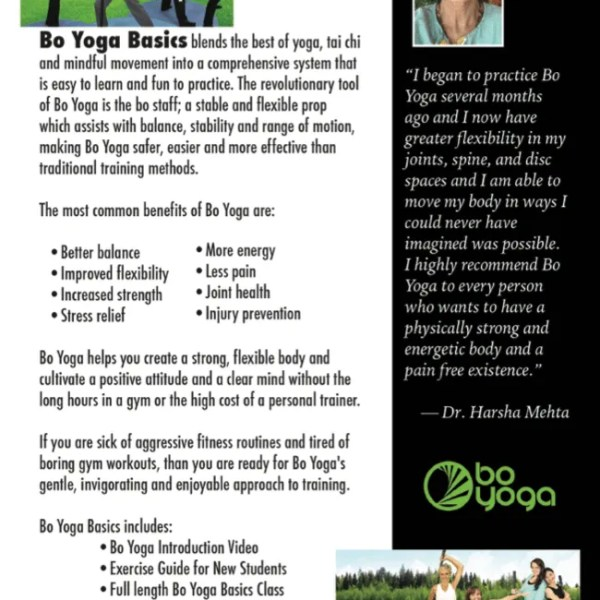 Bo Yoga Basics Back Cover Energy Balance Mindfulness