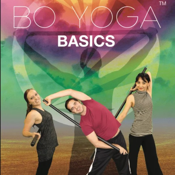 Bo Yoga Basics DVD Front Cover Energy Balance Mindfulness