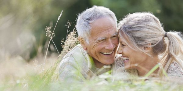 happy older couple law of attraction relationships