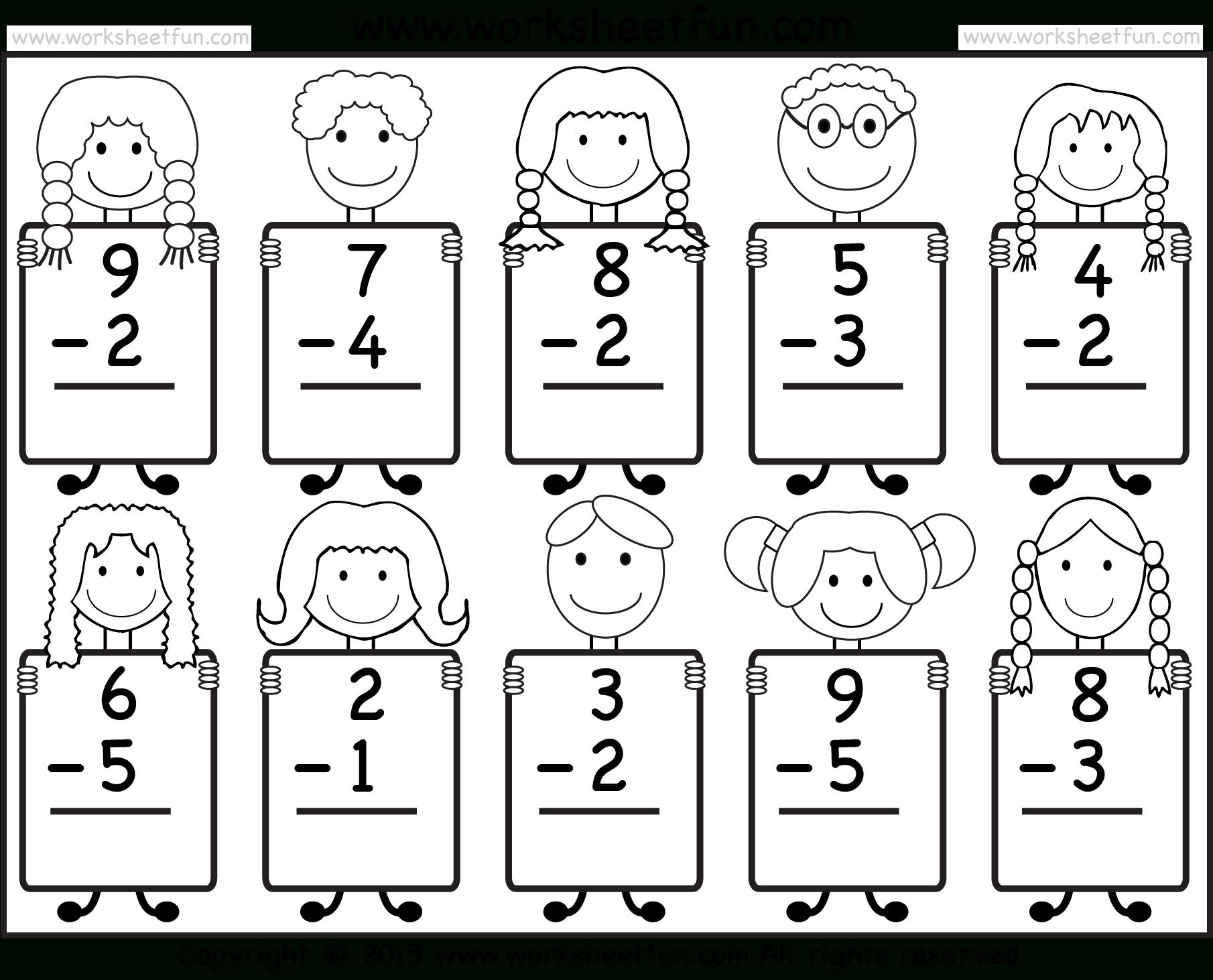 Free Printable Sheets For Kindergarten