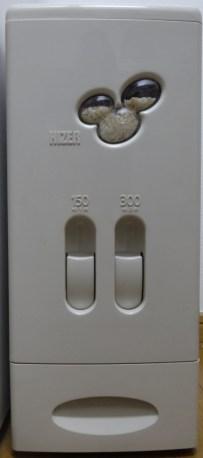 ハイザー計量米びつ 12kg US-12の写真。