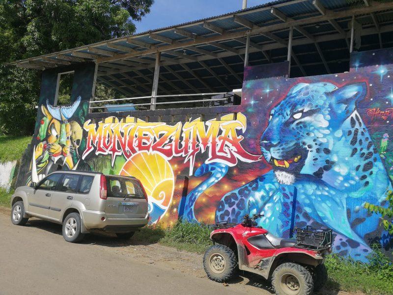Graffiti in Montezuma