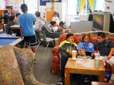 Live Oak Teen Center Lounge