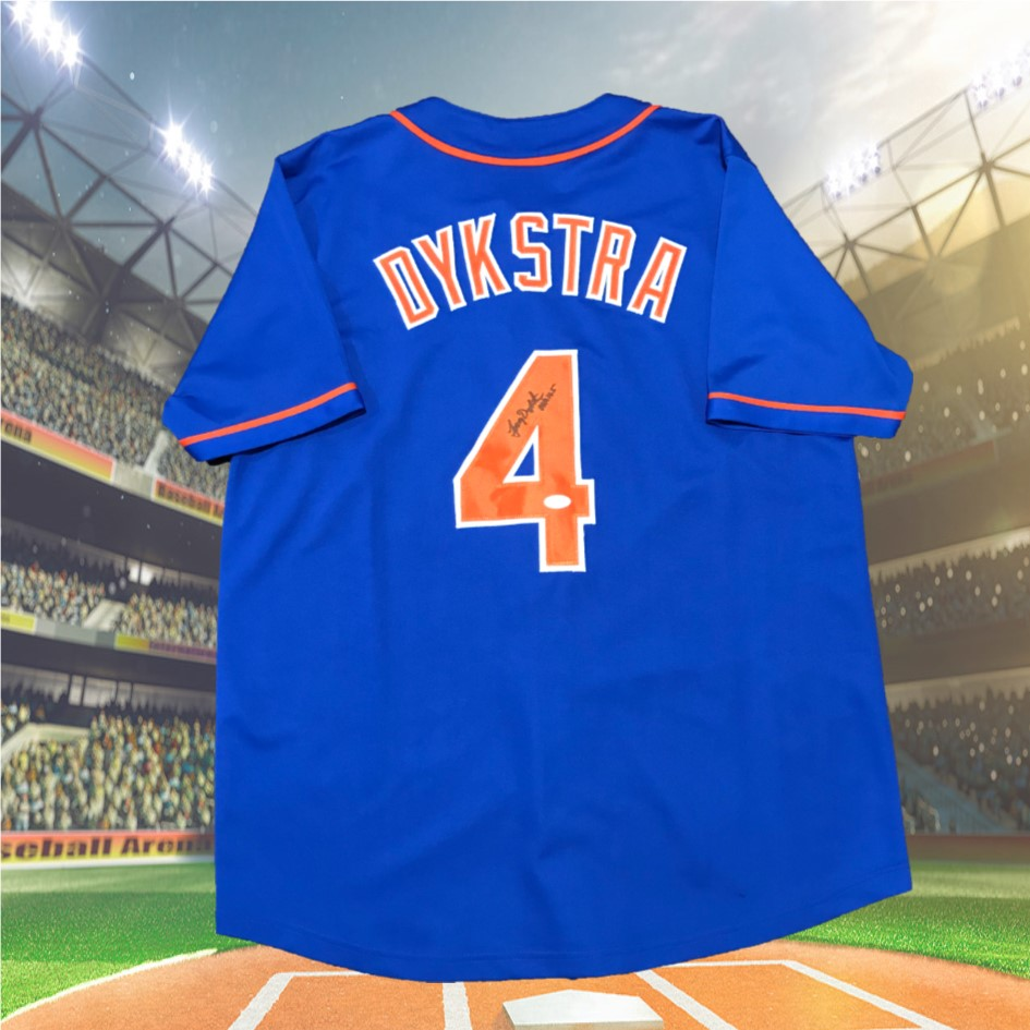 new product 8bcf8 cfe99 Autographed Lenny Dykstra NY Mets – The Boys and Girls Club ...