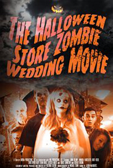 halloween store zombie wedding movie
