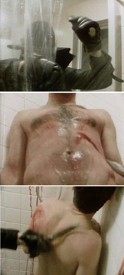 city in panic shower killer