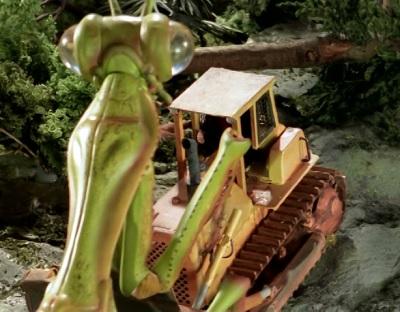monster island mantis