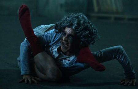 bedeviled crawling granny