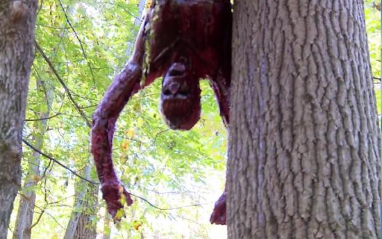wild men body hang