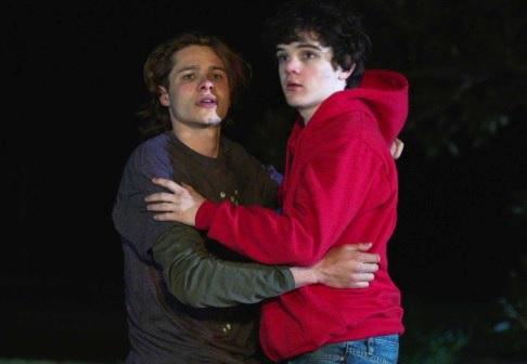 boys in the trees hug