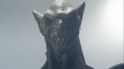 shrine statue head