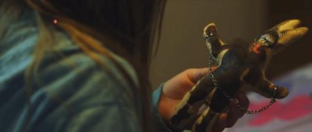 krampus reckoning girl with toy