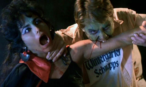 blood diner zombie