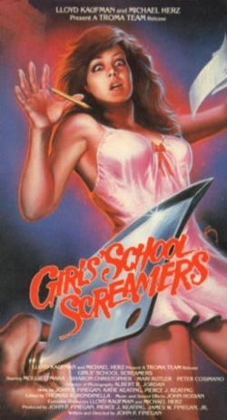 girl school screamers cover