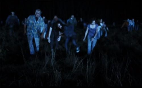infected zombie horde