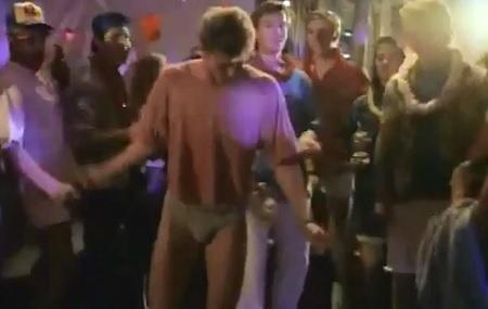 rush week dancing boy