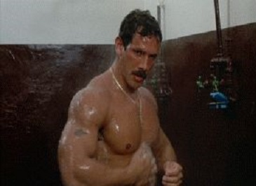 brain damage shower hunk