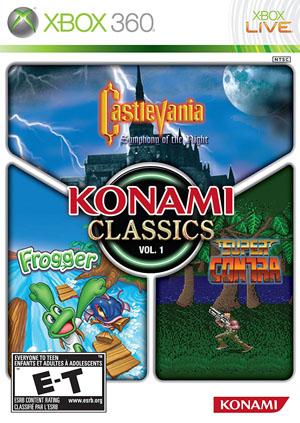 konami classic 1 box
