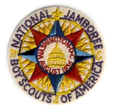 Boy Scout Patch Trader - Jamboree Patches