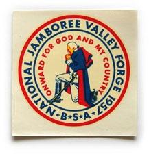 1957 National Jamboree Decal