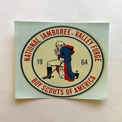 1964 National Jamboree Decal
