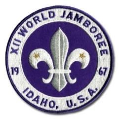 1967 World Jamboree Back Patch
