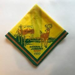 1969 National Jamboree Neckerchief