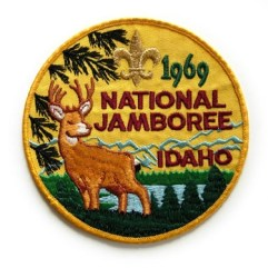 1969 National Jamboree Back Patch