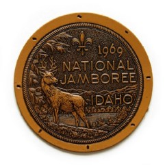 1969 National Jamboree Leather Patch