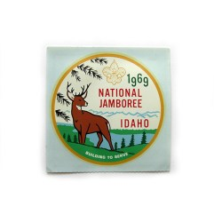 1969 National Jamboree Decal