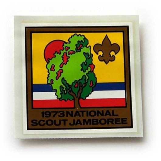 1973 National Jamboree Decal