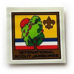 1973 National Jamboree Decal