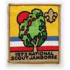 1973 National Jamboree Jacket Patch