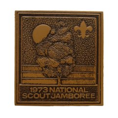 1973 National Jamboree Leather Patch