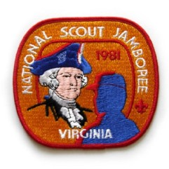 1981 National Jamboree Back Patch