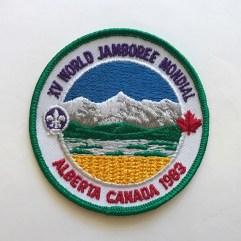1983 World Jamboree Pocket Patch