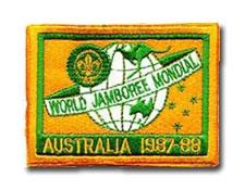 1987-88 Word Jamboree Pocket Patch