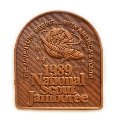 1989 World Jamboree Leather