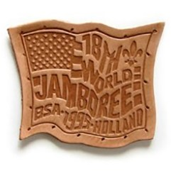 1995 World Jamboree USA Leather