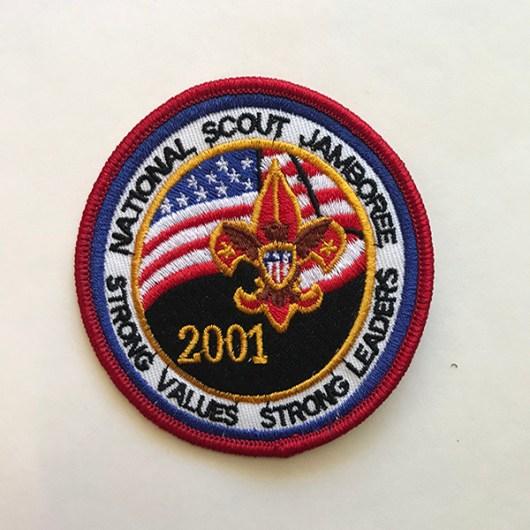 2001 National Jamboree Pocket Patch