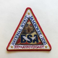 2010 National Jamboree Triangle Patch