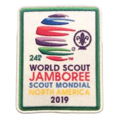2019 World Jamboree Participant Jacket/Back Patch