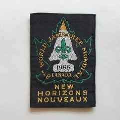 1955 World Jamboree Participant Patch