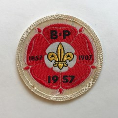 1957 World Jamboree Participant Pocket Patch