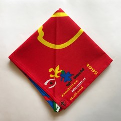 1995 World Jamboree Participant Neckerchief