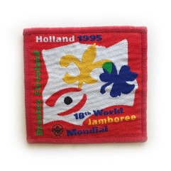 1995 World Jamboree Participant Pocket Patch
