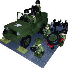 Pack 331 Willys Jeep