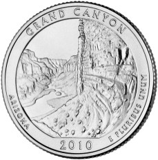 America the Beautiful quarters - Grand Canyon National Park