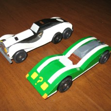 Arctic Roller and Riddler Race
